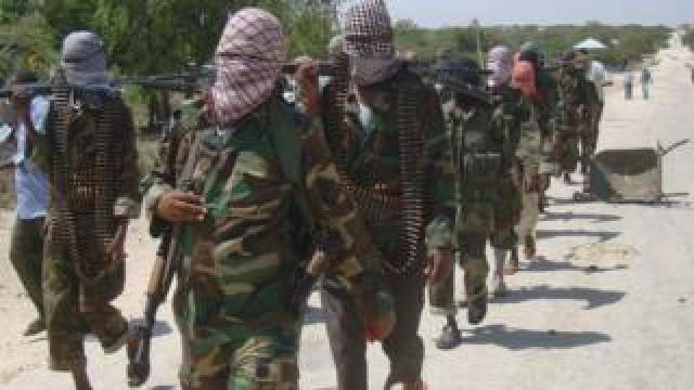 Al-Shabab militants in 2012 (archive photo)