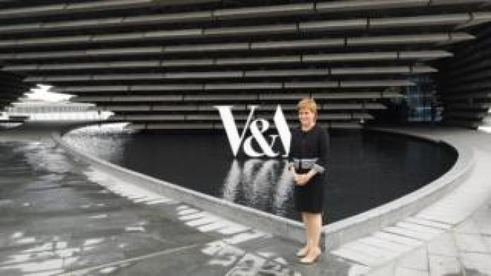 Nicola Sturgeon at V&A