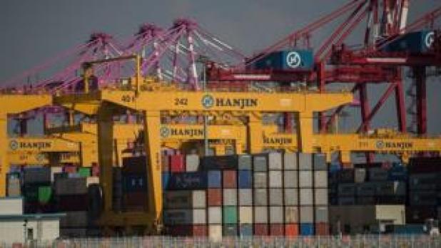 Hanjin Incheon Container Terminal in Seoul