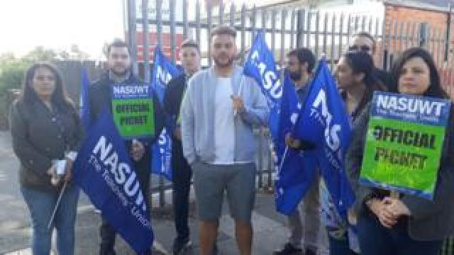 The picket line