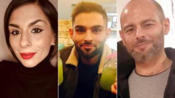 Sophia Ahmed, Omar Khan and Tahir Khan