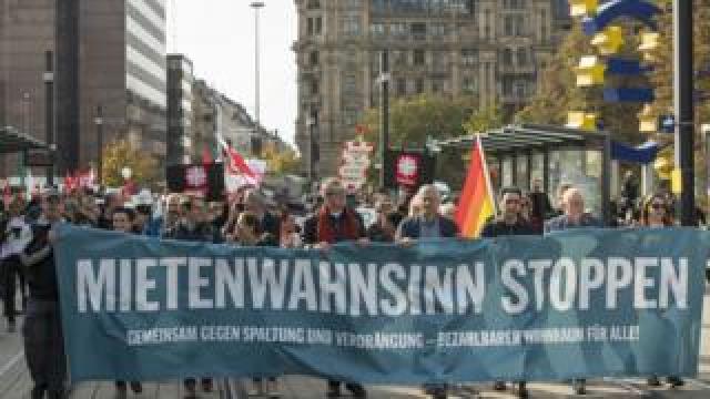 Fair rent march in Berlin, 20 Oct 18