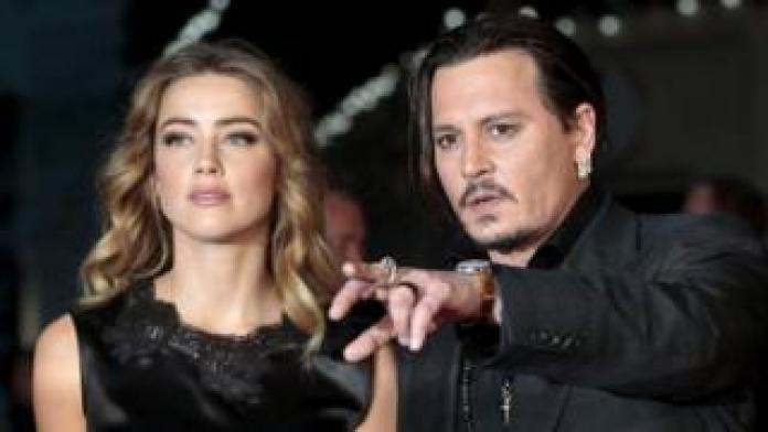 Amber Heard and Johnny Depp in 2015