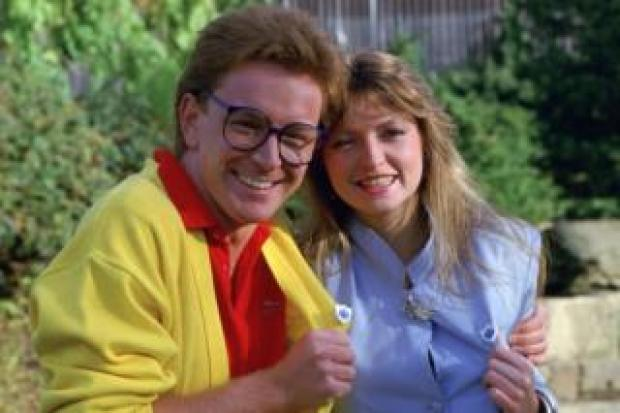 Mark Curry and Caron Keating