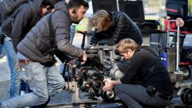 Trainspotting 2 film set