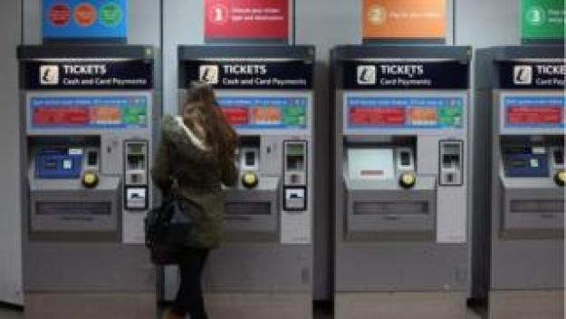 Rail ticket machines