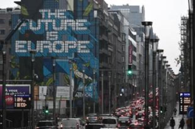 Brussels European Quarter, Nov 2018 file pic