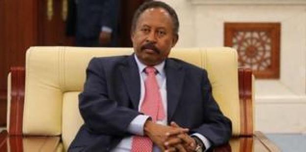 The President of the Government of Sudan, Abdullah Hamdouk