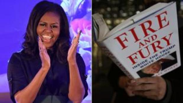 Michelle Obama and Fire and Fury