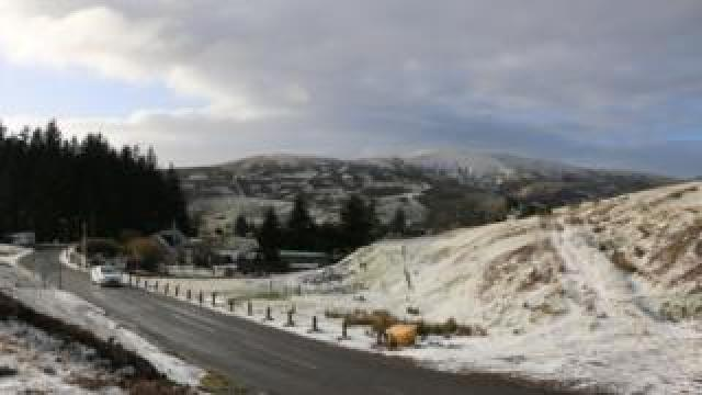Wanlockhead is in the hills of Dumfries and Galloway