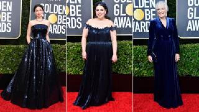 Ana De Armas, Beanie Feldstein and Glenn Close