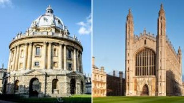 Oxford and Cambridge