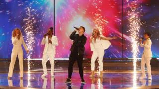 Michael Rice at Eurovision