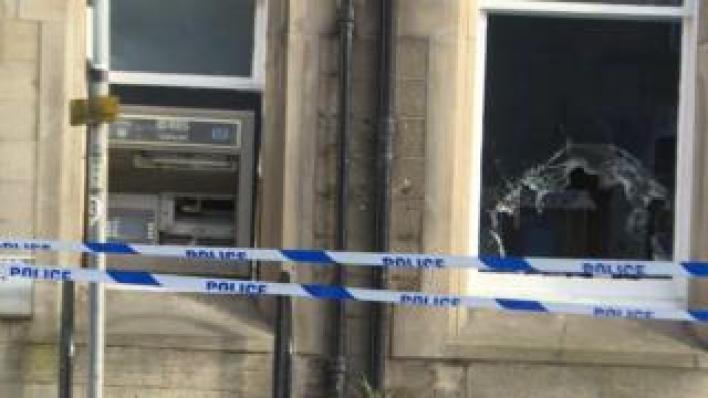 Bank raid