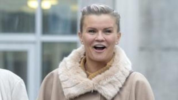 Kerry Katona arrives at Brighton Magistrates' Court in March 2019