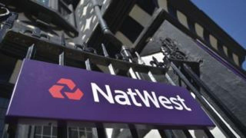 NatWest bank sign