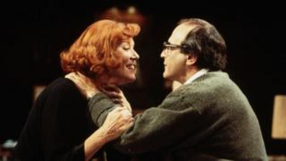 And alongside David Suchet, in a production of Who's Afraid of Virginia Woolf.