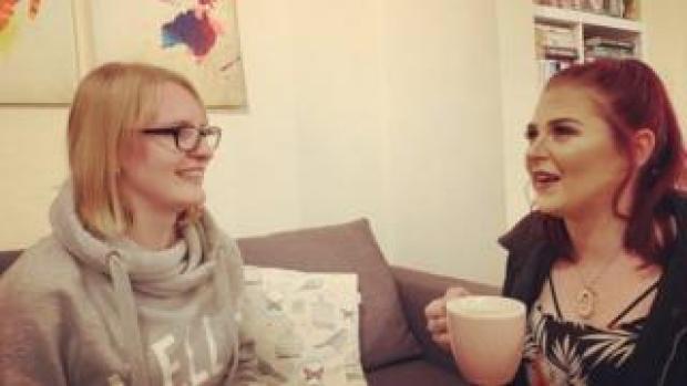 Sarah and Chloe
