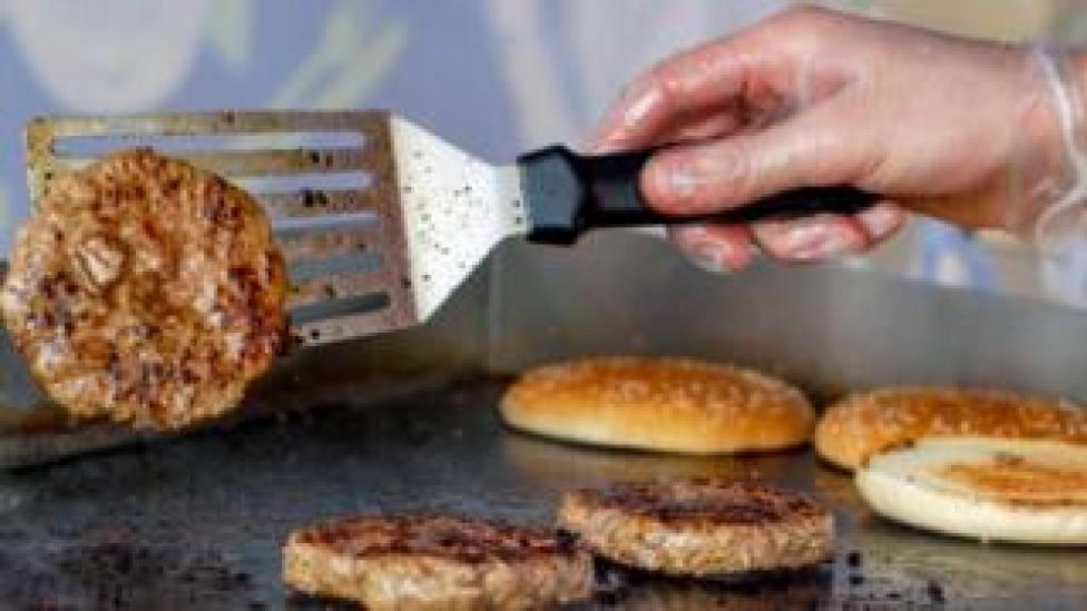 Burger flipping