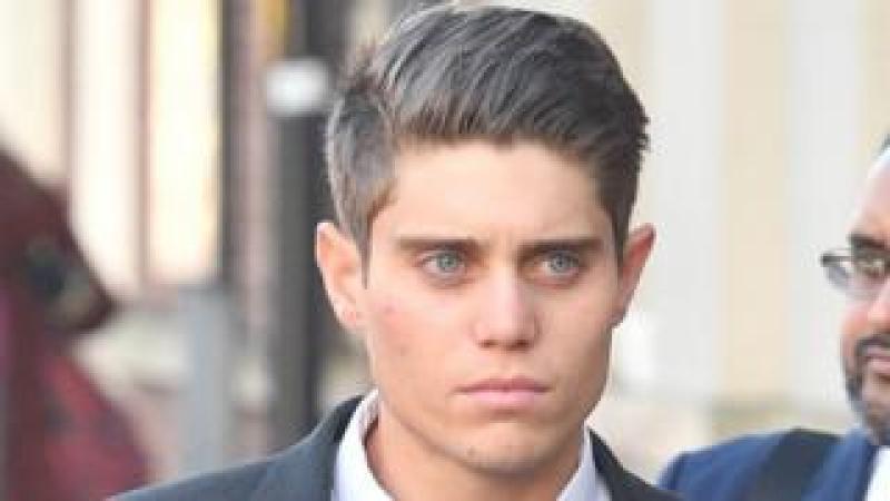Alex Hepburn arrives at court on Wednesday
