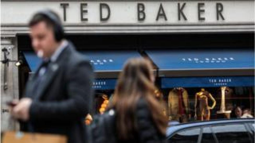 People overcome Ted Baker