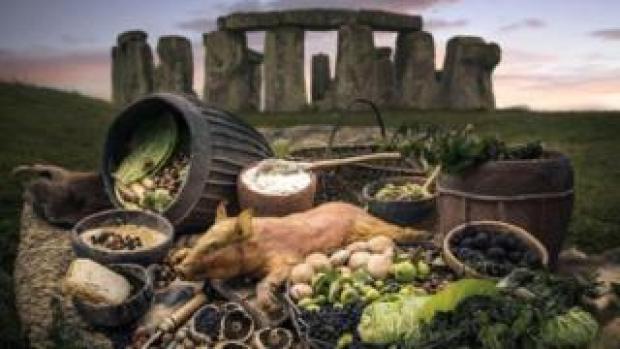 Stonehenge food