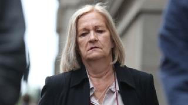 Sally Challen arrives at court