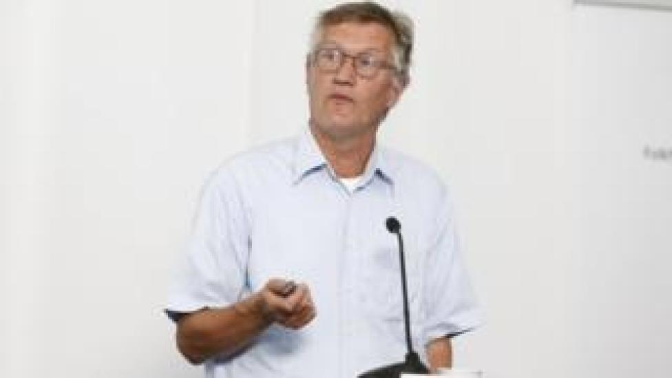 Dr Anders Tegnell on 25 June
