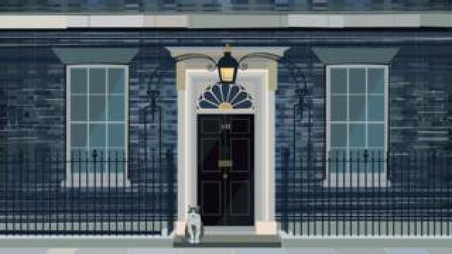 Illustration of 10 Downing Street