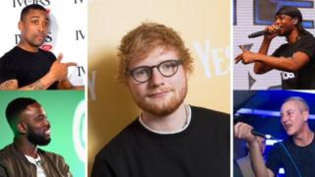 Ed Sheeran, Devlin, Ghetts, JME and Wiley