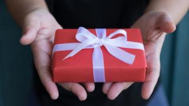 Mysterious Christmas present