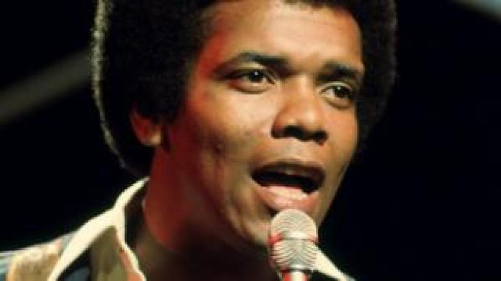 Johnny Nash performing on the music show Top Of The Pops