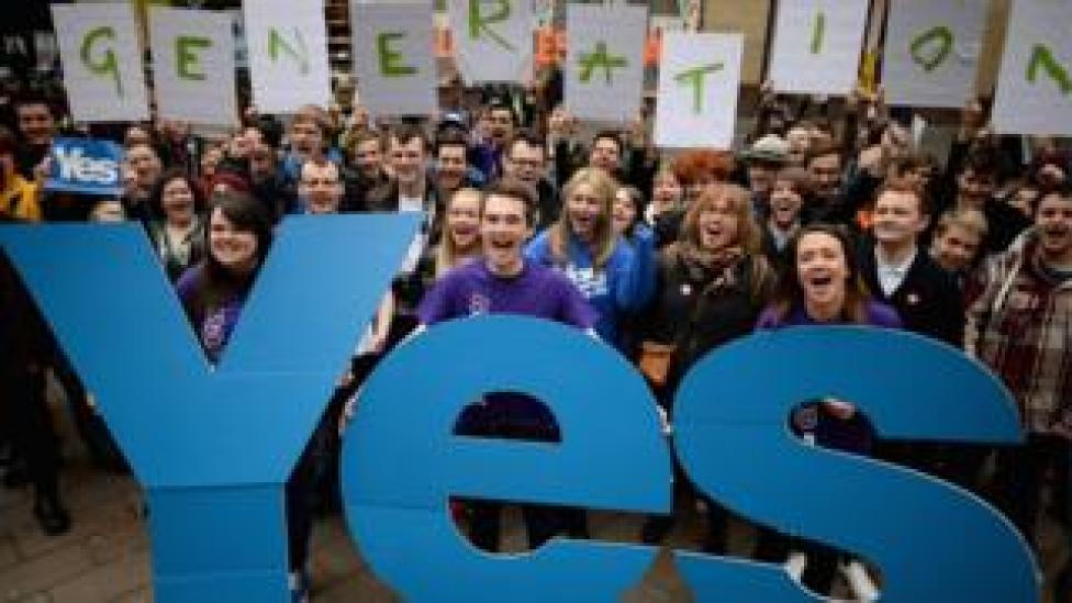 Generation Yes campaigners