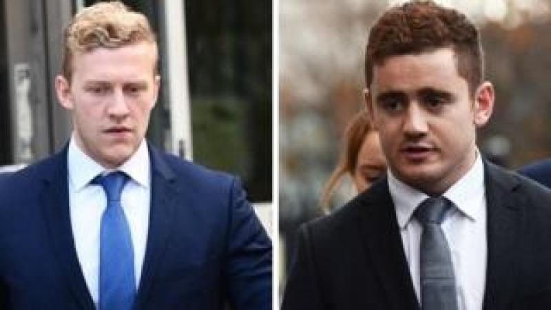 Stuart Olding and Paddy Jackson