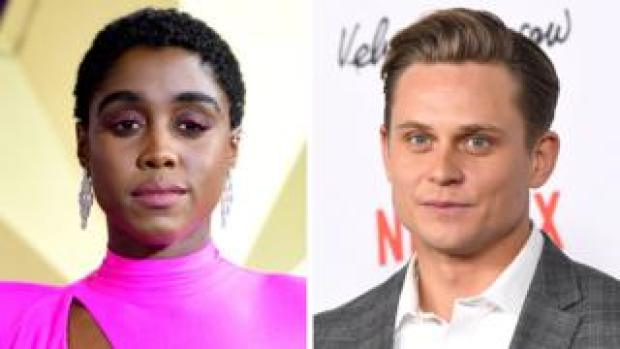 Lashana Lynch and Billy Magnussen