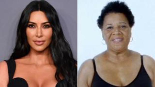 Kim Kardashian West and Alice Marie Johnson