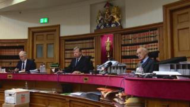 Three judges in Edinburgh