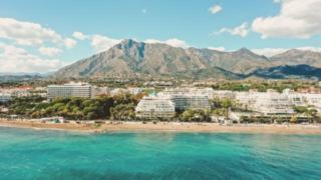 The incident occurred in Marbella, southern Spain