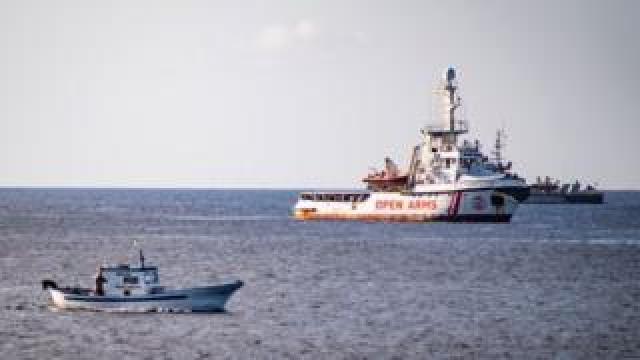 Open Arms ship, 15 Aug 19