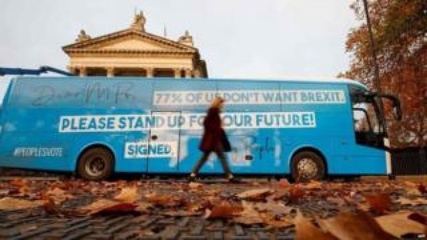People's Vote campaign bus