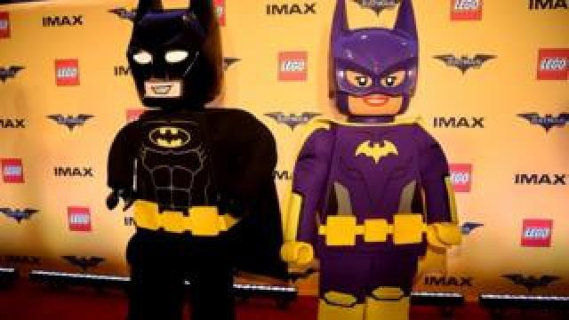 Lego Batman figures