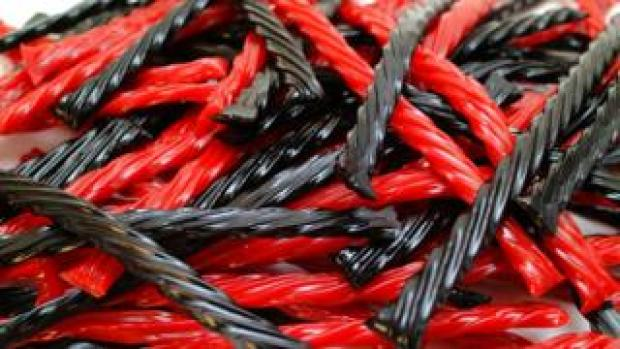 Stock photo of liquorice