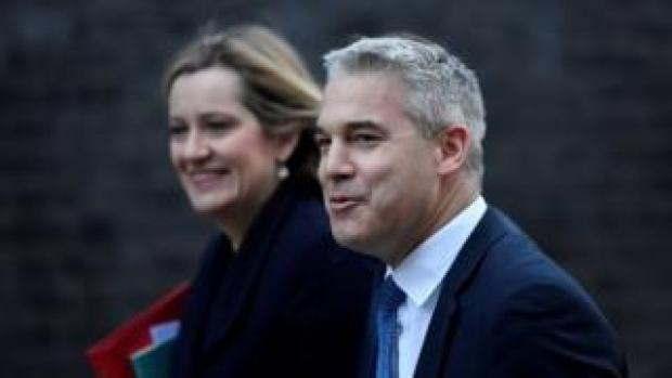 Stephen Barclay and Amber Rudd