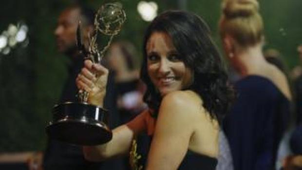 Julia Louis-Dreyfus at the Emmy Awards in Los Angeles, California, 17 September