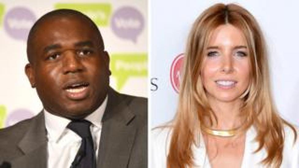 David Lammy and Stacey Dooley