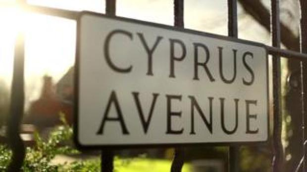 A street sign that reads: Cyprus Avenue
