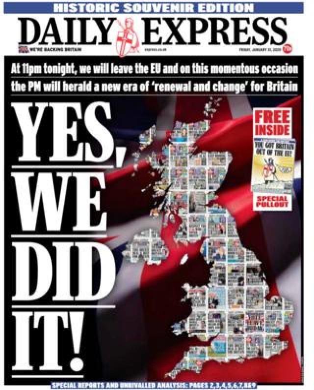 Friday's Daily Express