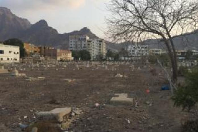 Maala Cemetery in Yemen is filled with broken and broken stones