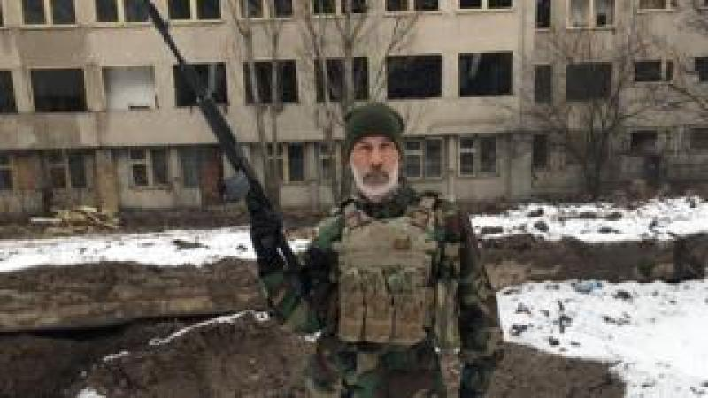 John Harding - a fighter in Ukraine