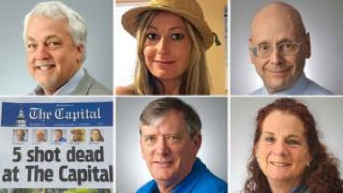 Victims of shooting at the Annapolis Capital Gazette